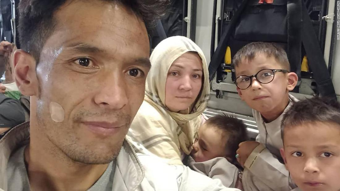 Afghan translator's desperate journey from the clutches of the Taliban to a new life in the US