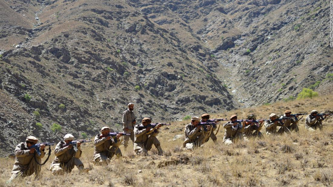 Heavy clashes erupt between Taliban and anti-Taliban group in Afghanistan