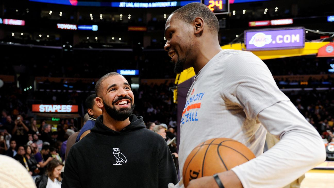 """Kevin Durant and LeBron James eagerly await Drake's """"Certified Lover Boy"""""""