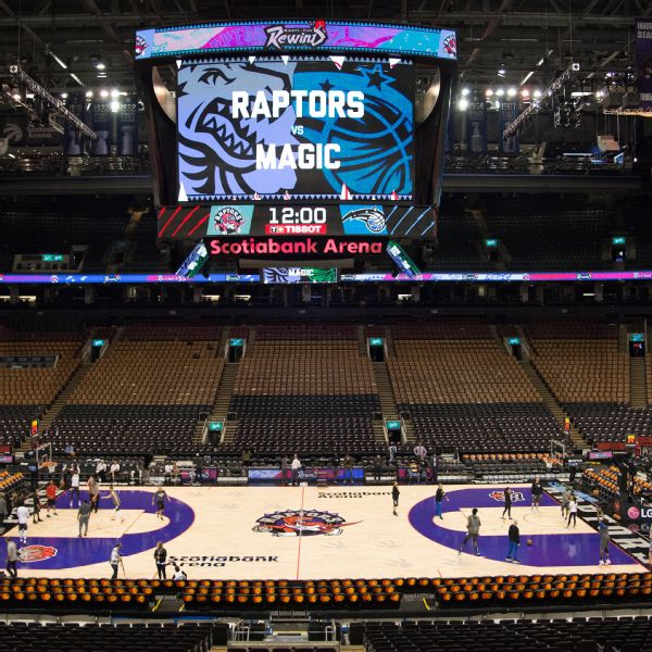 Canada gives OK for Raptors to play in Toronto