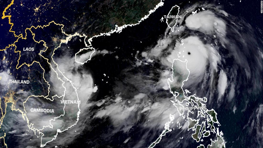 Vietnam and Taiwan are bracing for powerful twin storms