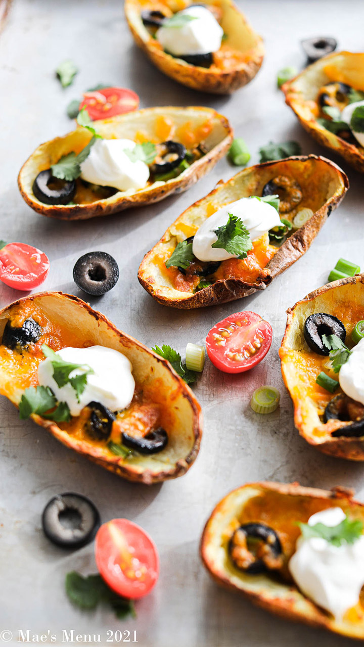 Crispy loaded potato skins for NFL game day: Try the recipe