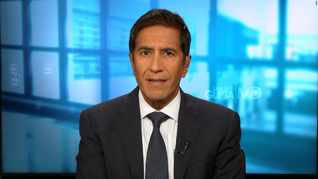 Sanjay Gupta explains argument for boosters of Pfizer vaccine