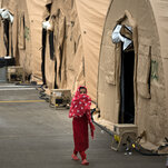 Thousands of Afghans on American Military Bases Await Resettlement