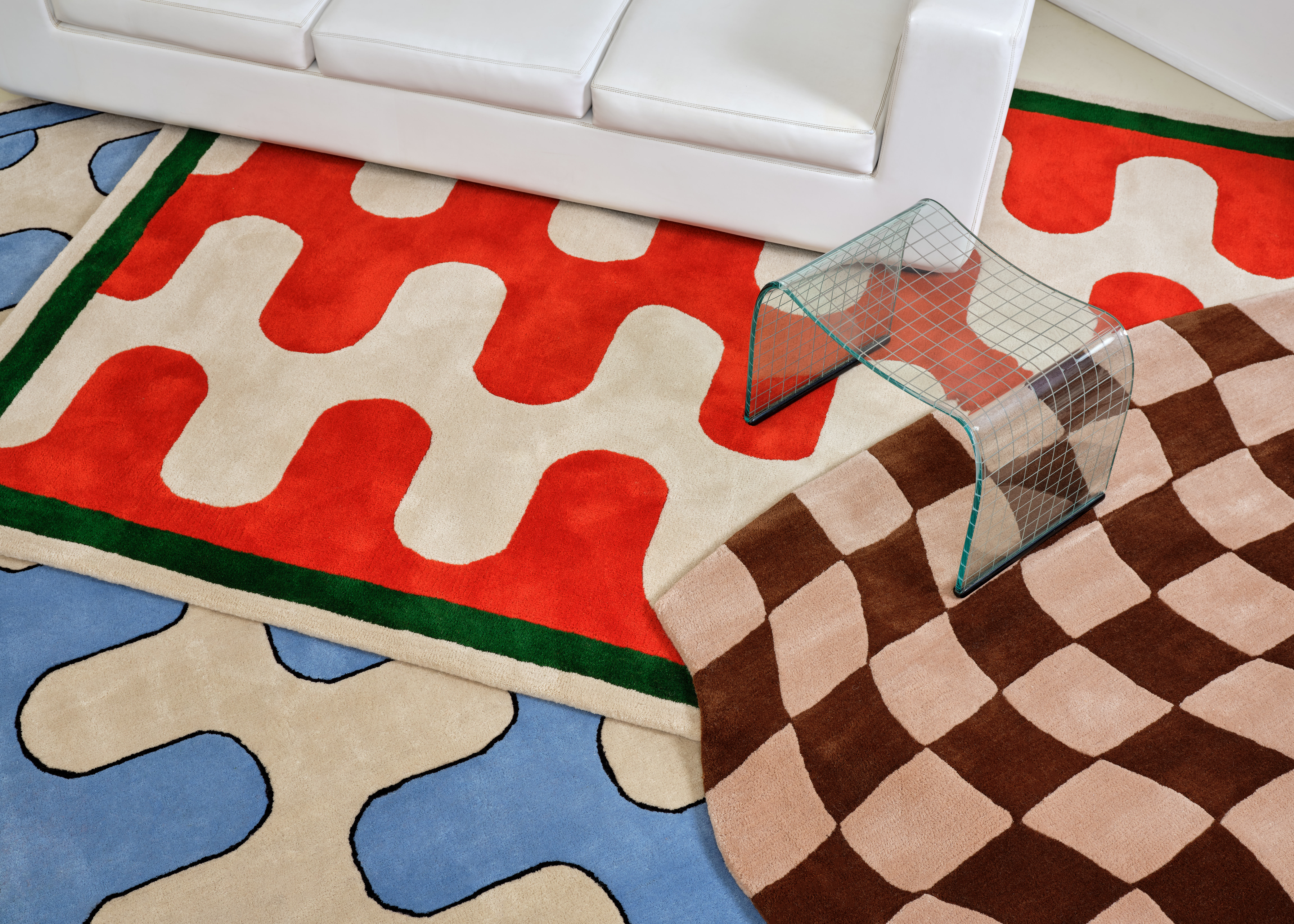 This Groovy Rug Collab Is Bringing '70s Design Back to Life