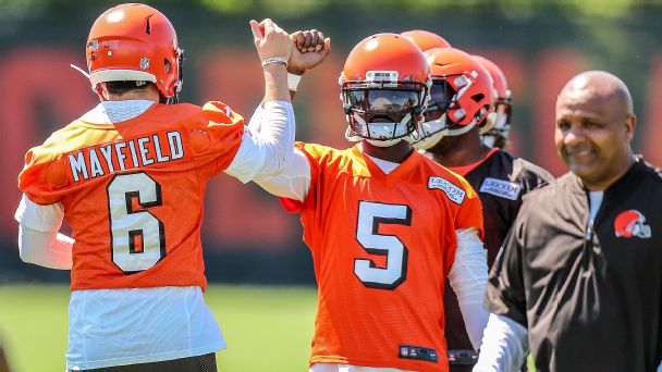 What did Tyrod Taylor, Baker Mayfield get out of their year together in Cleveland?