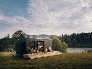 This Norwegian Tiny House on Wheels Will Take You Anywhere You Want to Go