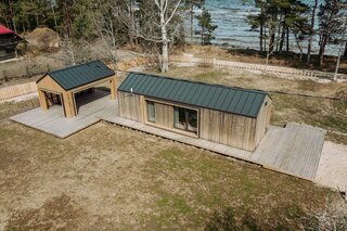 This Timber Prefab by Manta North Is What Dreams Are Made Of