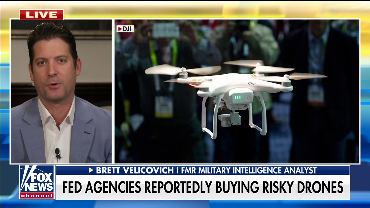 Former military intelligence analyst: Biden admin buying Chinese drones 'poses national security threat'