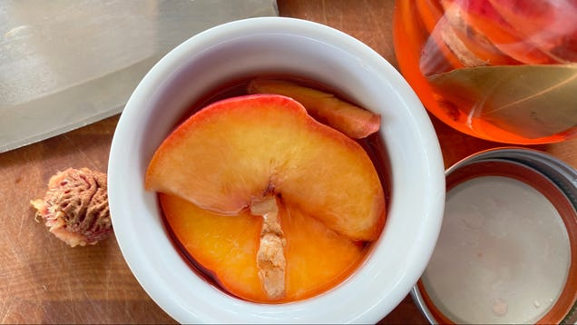 Turn Disappointing Peaches Into Tangy, Gingery Pickles