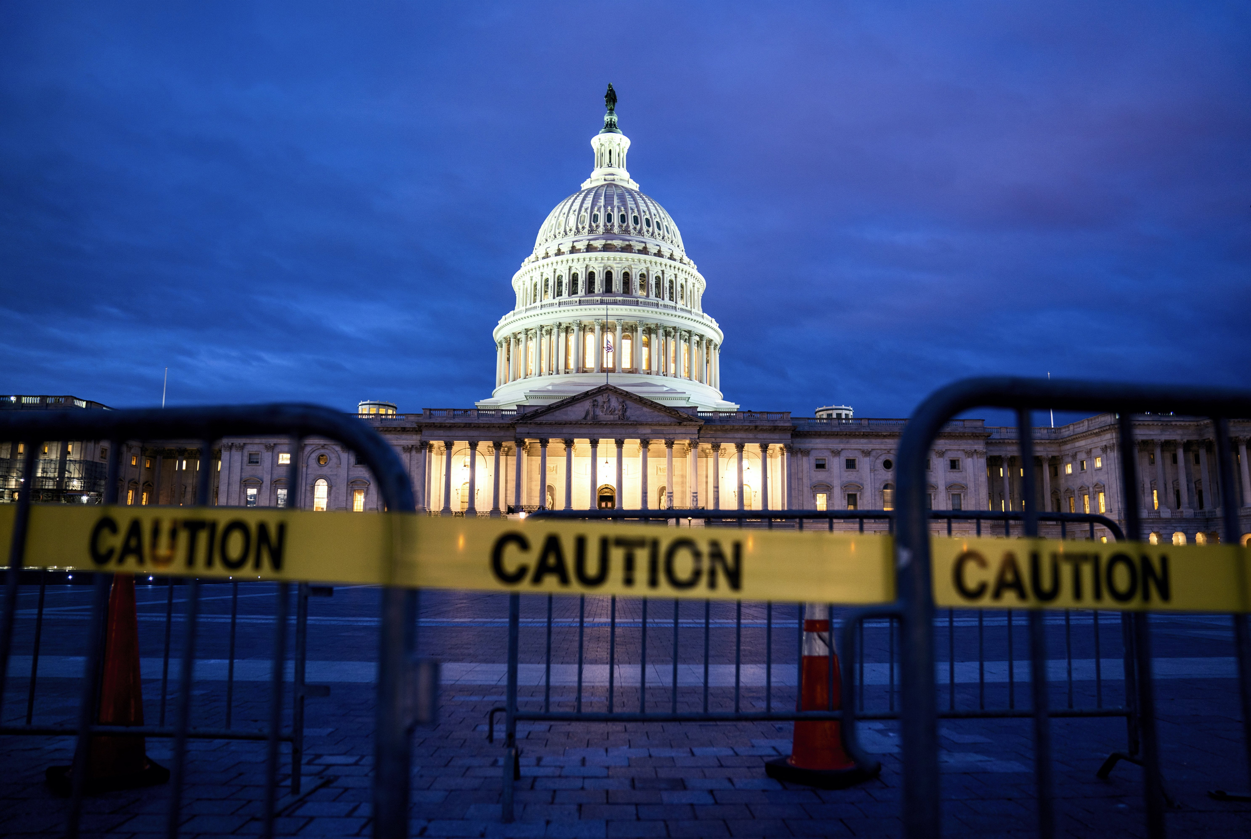 White House beginning to tell government agencies to prepare for a shutdown