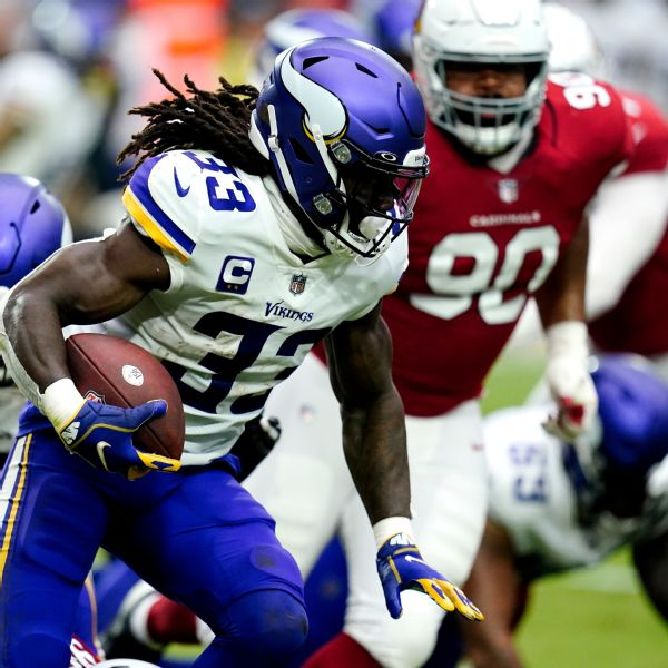 Winless Vikings 'to continue to play' Cook (ankle)