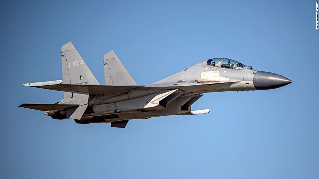 Taiwan says China is a 'bully' after one of the largest PLA warplane incursions yet