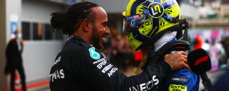 Norris 'devastated' after losing chance at first Formula One win