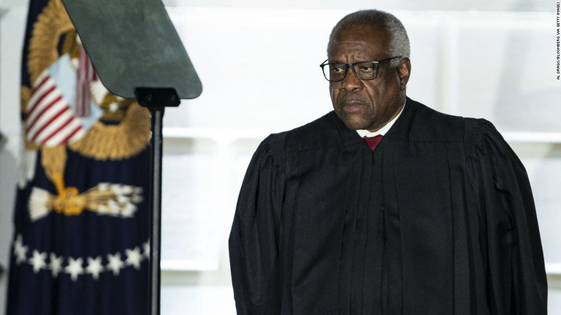 Justice Clarence Thomas is ready to take over the Supreme Court