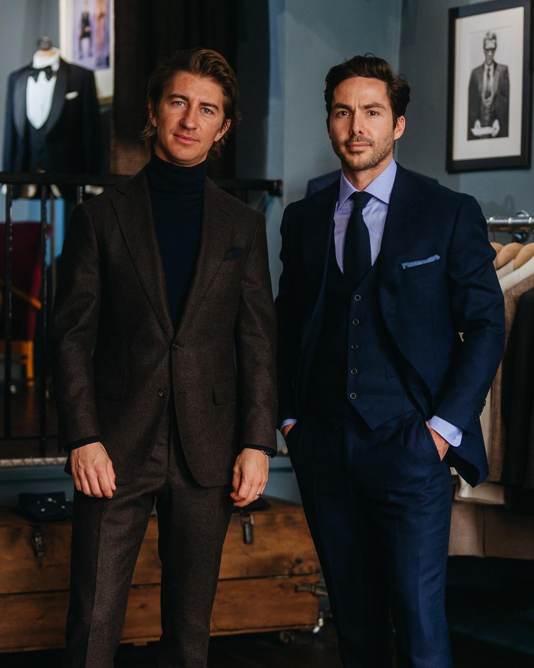 Shaking Up London's Bespoke Solutions: Jack Stammers And Will Davison Talk The Art Of Tailored Suits And Why They Launched Jack Davison Bespoke