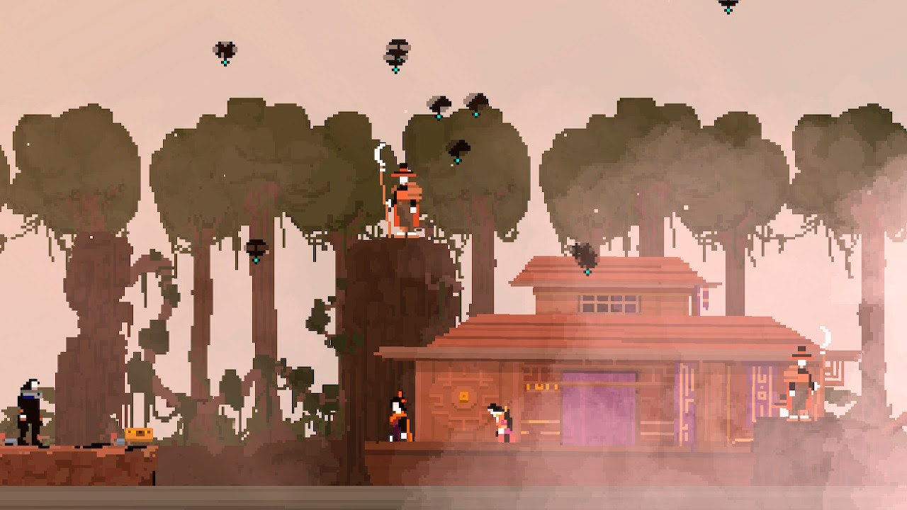 Olija Is an Indie Platformer With Love, Loss, and Harpoons