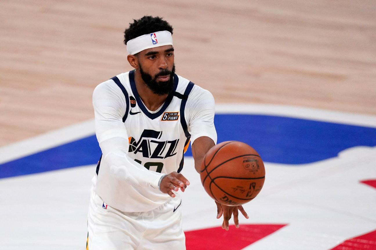 Jazz rule PG Conley out for Game 1 vs. Clippers