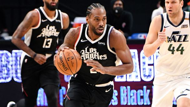 Follow live: Jazz will try to cool off Kawhi and Clippers in Game 1