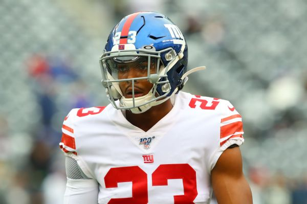 Giants CB Beal pleads guilty to firearm charges
