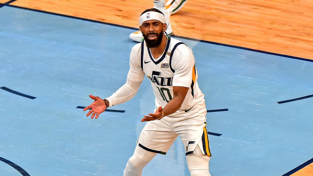 Conley (hamstring) to miss Game 4 vs. Clippers