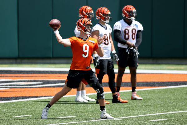 Bengals' Burrow hopes to be '100%' before camp