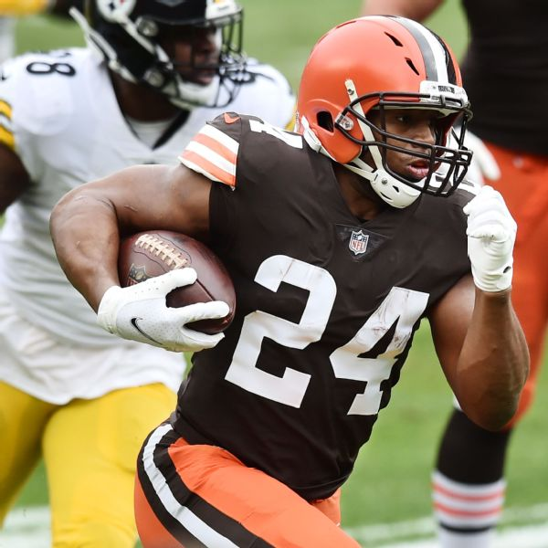 Browns RB Chubb: Cleveland where I want to be