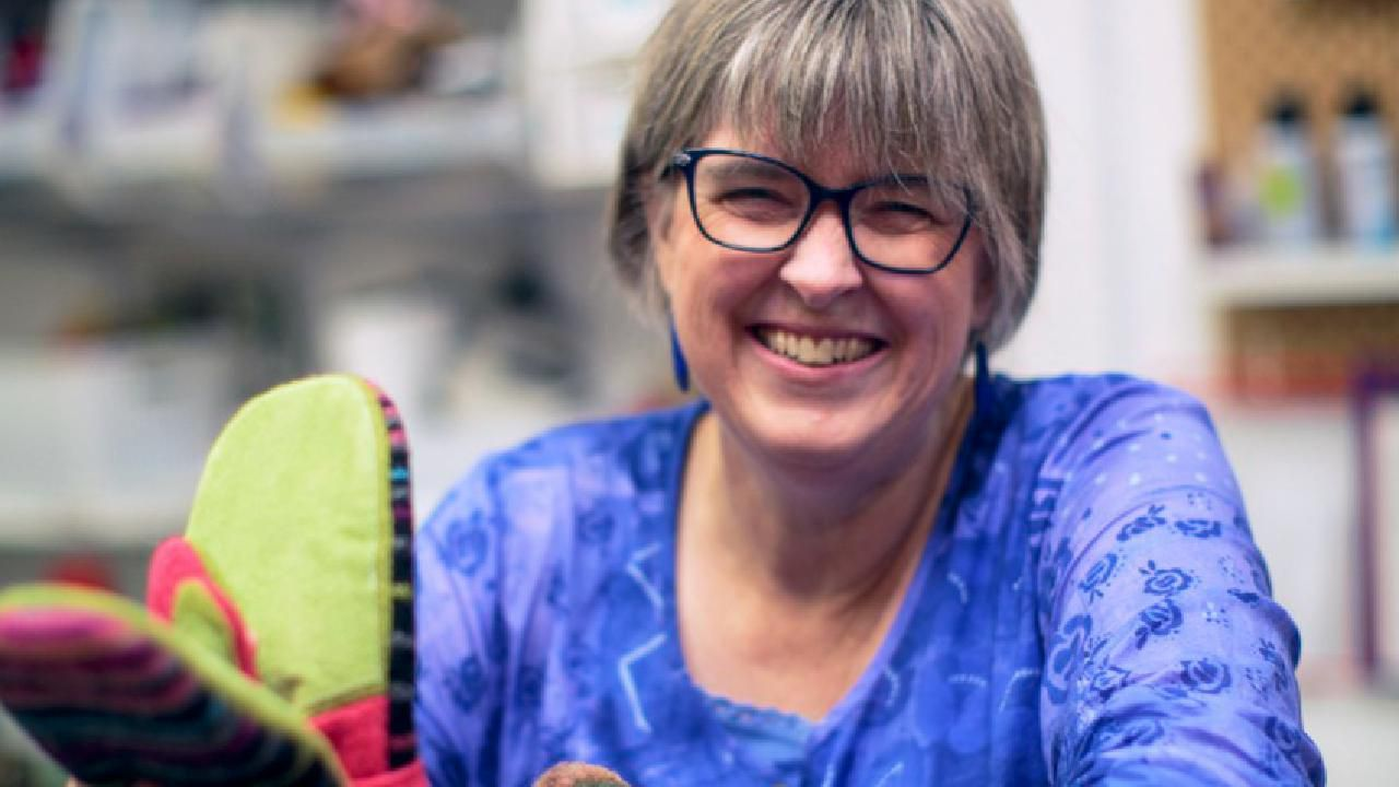 Second Act: She Laid Off Her 14 Knitters And Rehired Them As Covid-19 Mask Makers