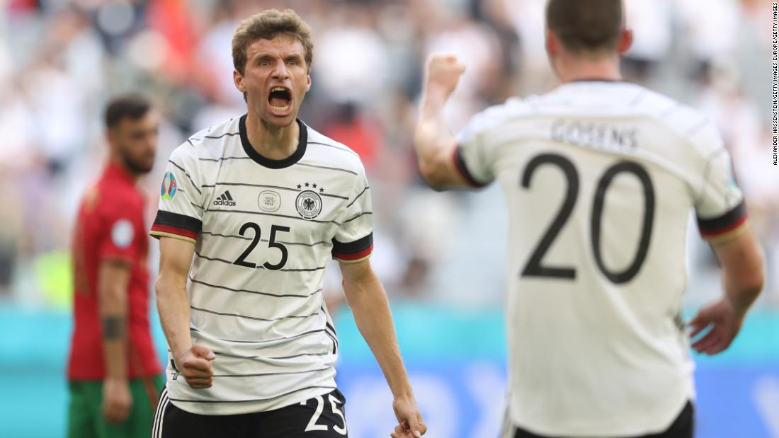 Germany secures impressive victory against Portugal at Euro 2020