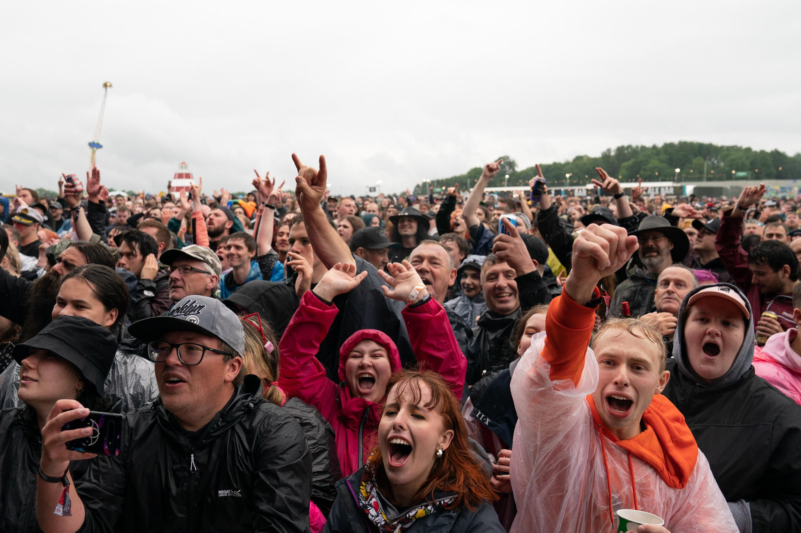 In Pictures: U.K. Holds First Music Festival Since Start Of Pandemic