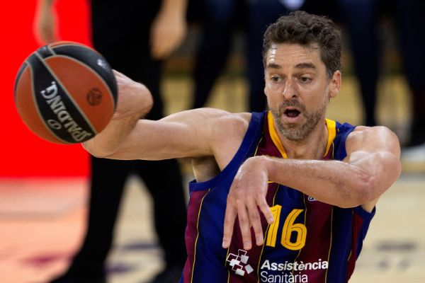P. Gasol in preliminary Spain squad for Olympics