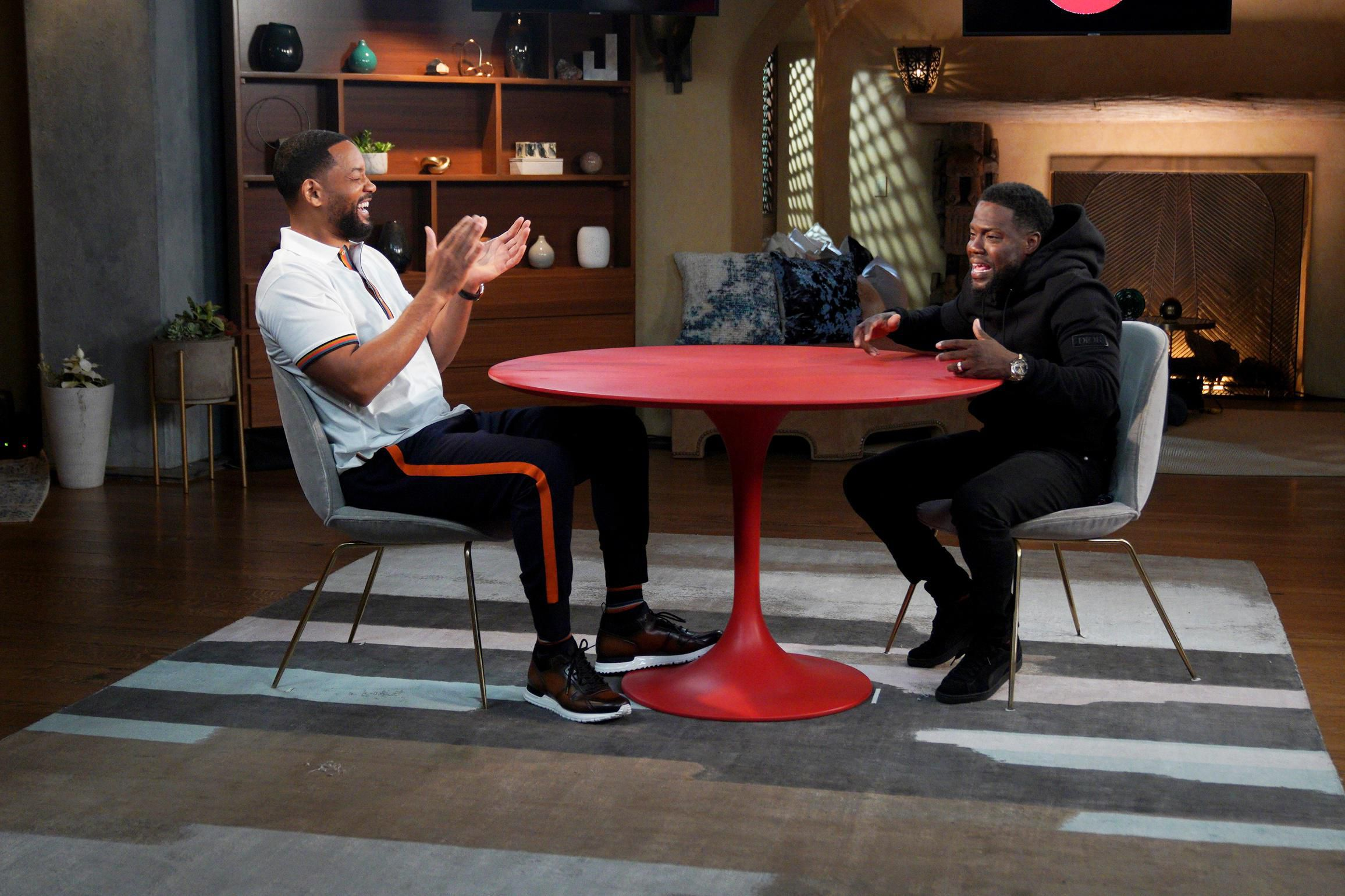 Will Smith And Kevin Hart Host Special Red Table Talk On Father's Day