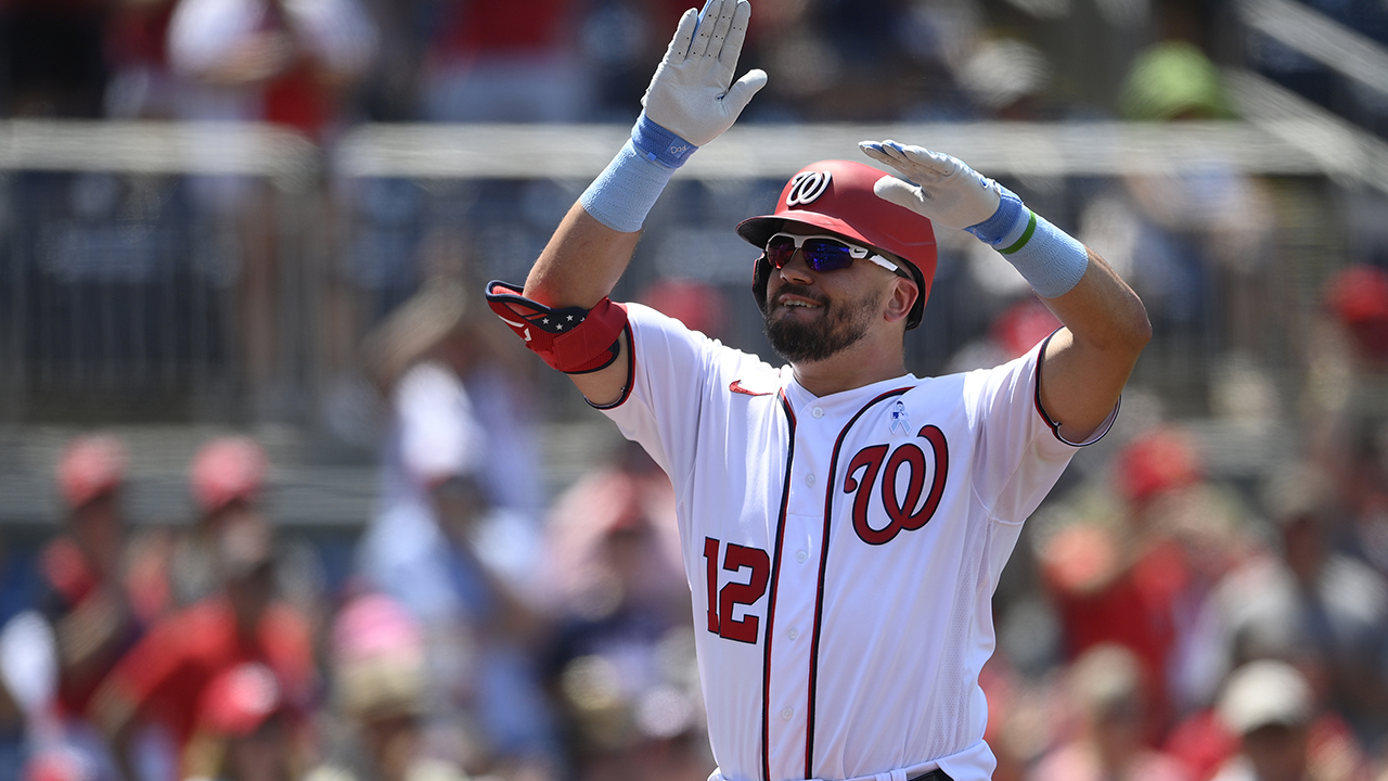 Schwarber hits 3 homers, Nats beat Mets 5-2, take 3 of 4