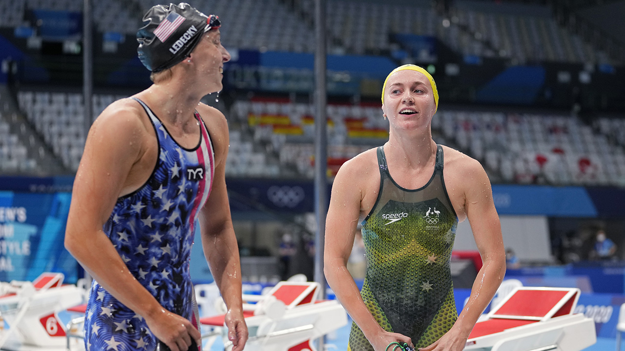 Aussie Terminator takes out Ledecky in 1st Olympics matchup
