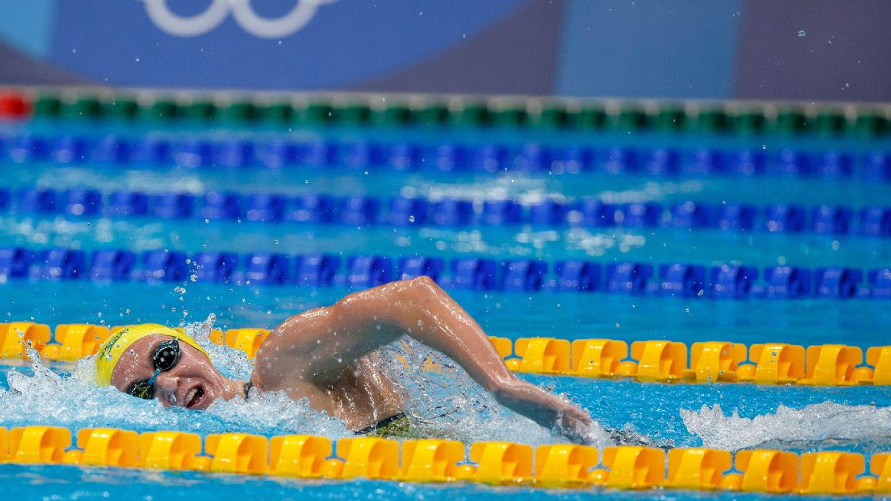 Live: Katie Ledecky grabs silver, Caeleb Dressel tries for gold, U.S. men's gymnastics and more updates from the Tokyo Olympics