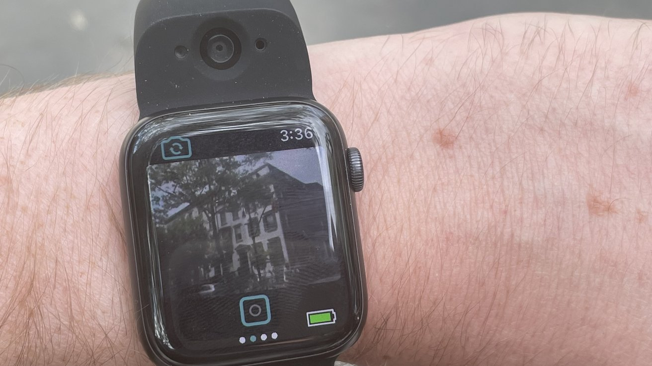 Wristcam review: The most feature-complete Apple Watch accessory to date